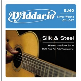 D'Addario EJ-40 Light Струны для фолк гитары